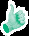 hand-green-border